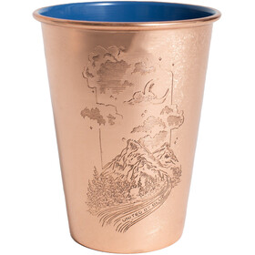 United By Blue Constellation Canyon Copper Enamel Lined Tumbler 500ml blue